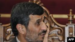 Президент Ирана Махмуд Ахмадинежад, 24 ноября 2009 года