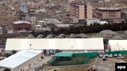 Кабул -- Лойа жырга өтө турган жайдын жалпы көрүнүшү. Жыйындын коопсуздугун камсыз кылууга атайын күчтөр тартылды.