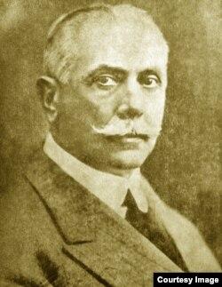 "Duiliu Zamfirescu, primul ""Comisar"" al Basarabiei (Foto: I. Țurcanu, M. Papuc, Basarabia în actul Marii Uniri de la 1918)"