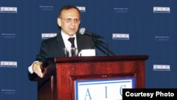Hooshang Amirahmadi, the president of the American-Iranian Council and would-be candidate for the presidency of Iran