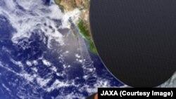ЖАКСАнын космостон микротолкун жөнөтчү кубаттуулук станциясы.