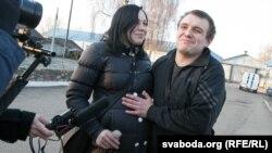 Уладзь Яроменак з жонкай Валянцінай