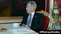 Президент Австрии Хайнц Фишер.
