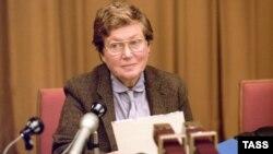 Светлана Аллилуева, февраль 1984