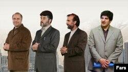 رسول خادم، حسن بیادی، نادر شریتعمداری و محمدباقر قالیباف چهارکاندیدای شهرداری تهران