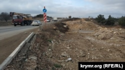 Реконструкция Камышового шоссе, декабрь 2019 года