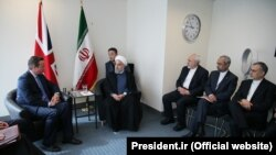 دیدار حسن روحانی با دیوید کامرون، پیش از ظهر روز دوشنبه در نیویورک صورت گرفته بود