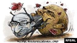 Карикатура на Геннадия Кернеса (худ. Алексей Кустовский)
