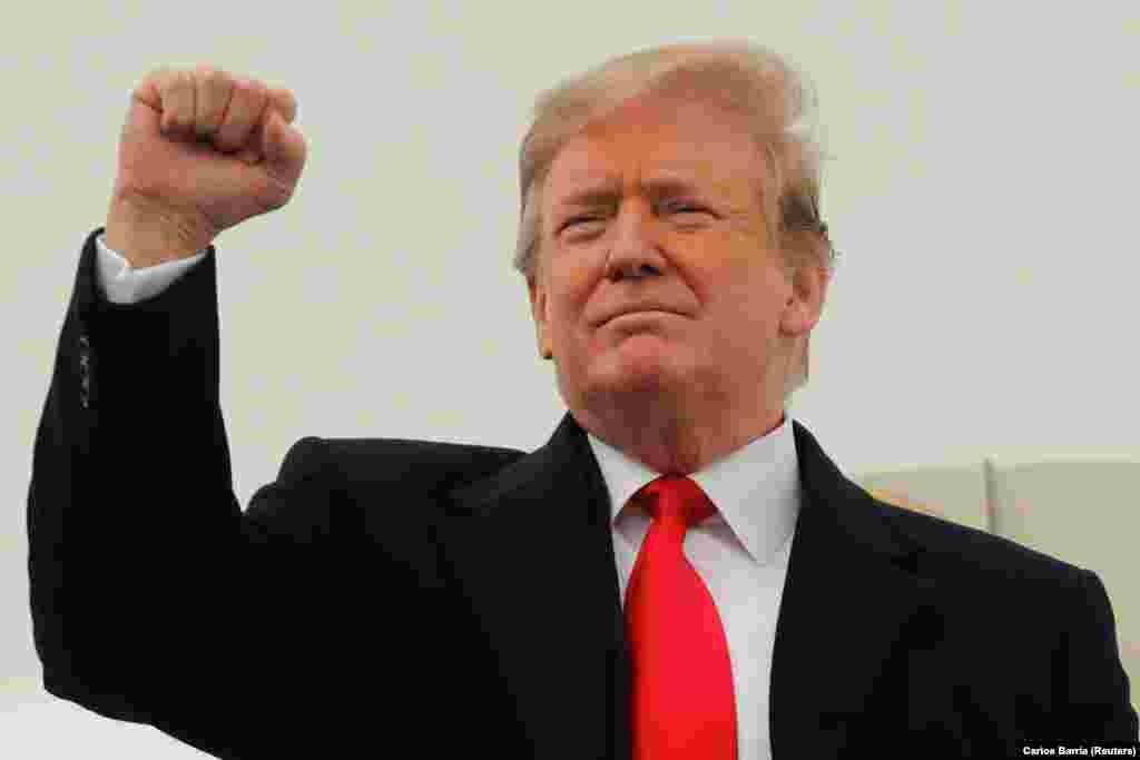 САД / РУСИЈА - Американскиот претседател Доналд Трамп побара да се објави во јавноста конечниот извештај на специјалниот советник Рoберт Мулер за истрагата во врска со руското мешање во претседателската кампања во 2016 година.