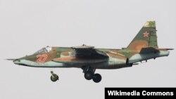 Россияда ишлаб чиқарилган СУ-25 учқичи.