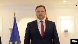 Архивска фотографија- пратеникот од ВМРО-ДПМНЕ Емил Димитриев
