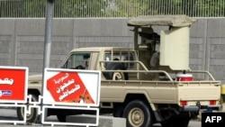 Силы безопасности Саудовской Аравии у консульства США в городе Джедда. Иллюстративное фото.