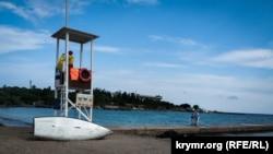 Пляж «Омега» в Севастополе, архивное фото