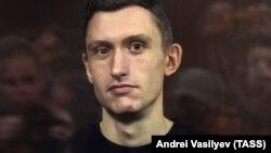 Konstantin Kotov in court in September 2019