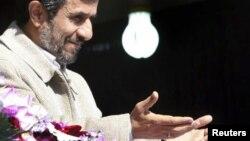 Иранскиот претседател Махмуд Ахмадинеџад.