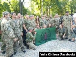 Ветерани батальйону «Київська Русь» 24 серпня 2019 року