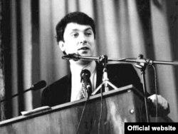 Борис Нємцов на початку політичної кар'єри