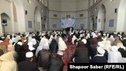 گردهمایی علمای زون غرب افغانستان در ولایت هرات. Feb 23 2021