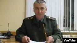 Экс-майор Игорь Матвеев