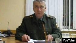 Бывший майор Игорь Матвеев