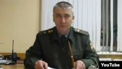Майор Игорь Матвеев