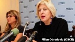 Претставникот на ОБСЕ за слобода на медиуми Дуња Мијатовиќ