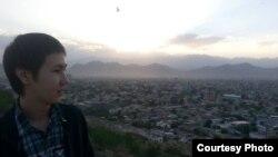 Мансур Жунисов, студент Американского университета Афганистана.