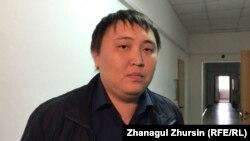 Канат Жардембаев, главный эколог полигона отходов товарищества «Таза табигат-АН». Актюбинская область, 9 октября 2018 года.