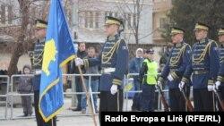 Сили безпеки Косова на репетиції урочистого параду