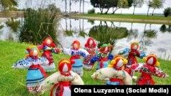 Традиційні українські ляльки-мотанки від Олени Лузяніної