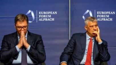 Aleksandar Vučić i Hašim Tači, ilustrativna fotografija