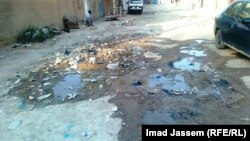 احد شوارع منطقة ابو غريب ببغداد