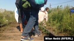 Od Srbije do Mađarske sa izbeglicama