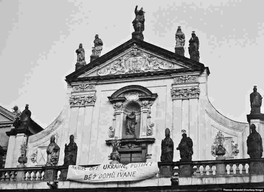 Костел Святого Сальвадора в Праге - 6 апреля 2014 года