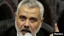 Исмаил Хания - лидер группировки ХАМАС, которая удерживает власть в секторе Газа