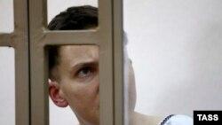Надія Савченко на засіданні суду, архівне фото