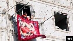 У Цхінвалі після війни, 23 серпня 2008 року