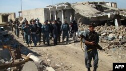 Forcat afgane në provincën Helmand
