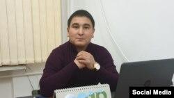 Турсунбек Бейшенбеков. Сүрөт журналисттин «Фейсбуктагы» баракчасынан алынды.