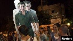 В Израиле освобождения капрала Шалита добивались не только его родители, но и просто сочувствующие