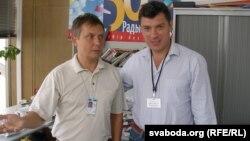 Аляксандар Лукашук і Барыс Нямцоў