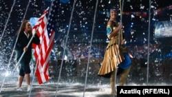 Казанда Су спорты дөнья беренчелегендә АКШ әләмен алып чыгу