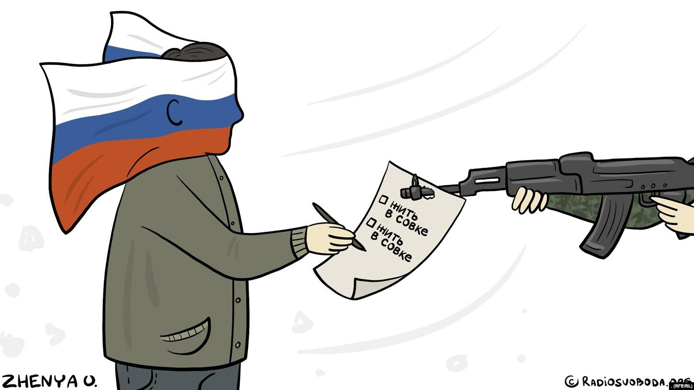 днр карикатура