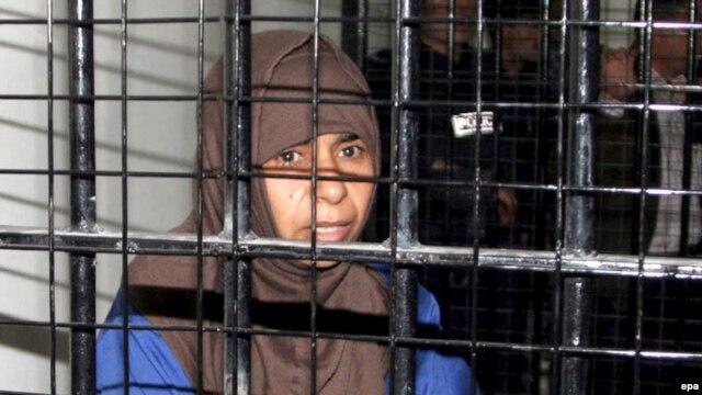 ساجده الريشاوی، عضو القاعده که چهارشنبه در اردن اعدام شد