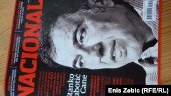 Stanko Subotić Cane na naslovnoj stranici novog broja Nacionala