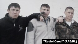 Акси фарзандони Фазила Раҳимова ва Ёразмад Назаров