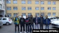 Učenici dobojske gimnazije
