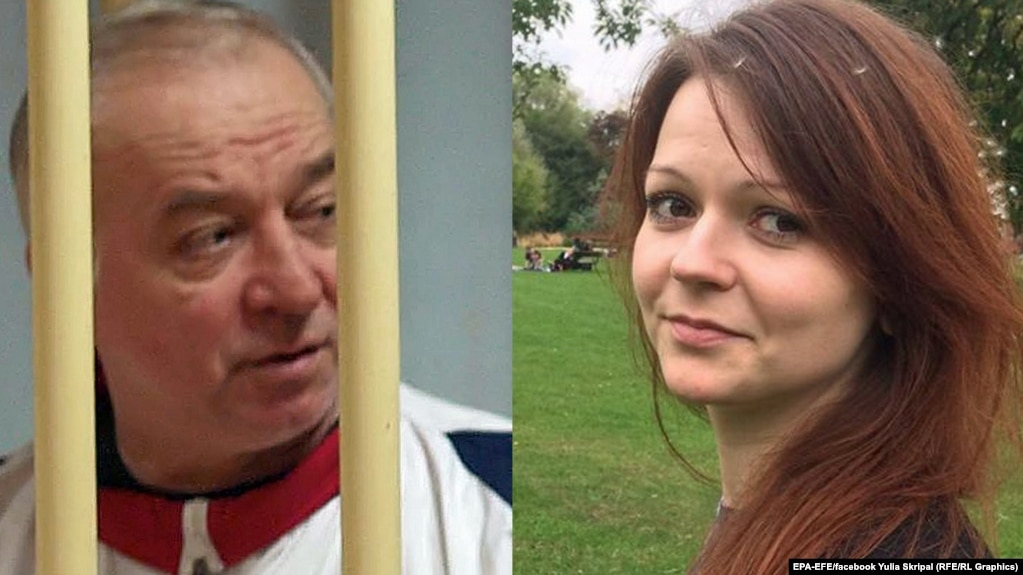 Image result for photos of Skripal and his daughter
