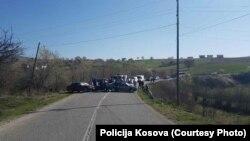 Blokada u mestu Padalište, Istok