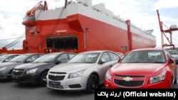 خودروهای وارداتی به ایران؛ شورولت